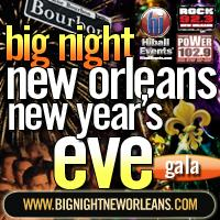 Big Night New Orleans New Year's Eve Gala 2013-14