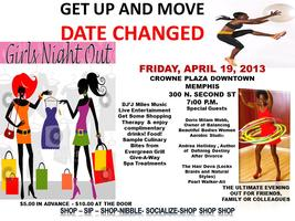 Get Up And Move Girls Night Out Night