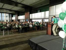 Mean Green Coaches Caravan - Denton
