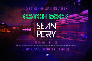 Sean Perry @ Catch Roof