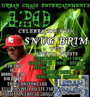 420 CELEBRATION WITH SNUG BRIM AND URBAN CHAOS