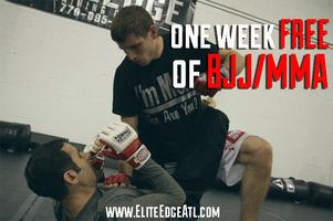 One Free Week of Brazilian Jiu Jitsu/MMA at Elite Edge