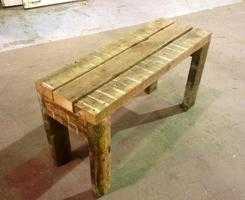 Wood Bench - Make It / Take It One-Day (COUPLES OPTION)