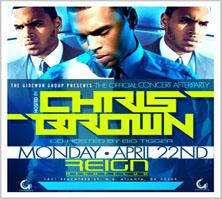 Concert After-Party Hosted By Chris Brown