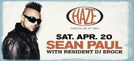 Sean Paul at HAZE Nightclub