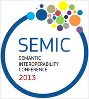 SEMIC 2013 -  Semantic Interoperability Conference 2013