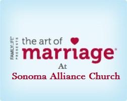 Sonoma Alliance Church Art of Marriage Event