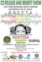 Preeta 'We Are Changed' CD Release And Benefit Show