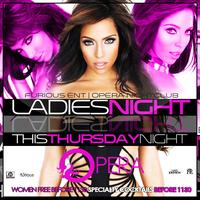 LADIES ENTER FREE ALL NIGHT with RSVP at Opera Tonight