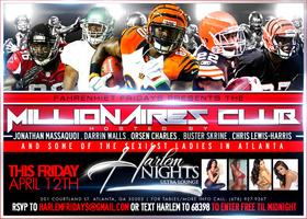 Some of NFL's finest and ATL's Sexiest this Friday at...