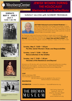 The Breman Museum Presents: Jewish Women During The...
