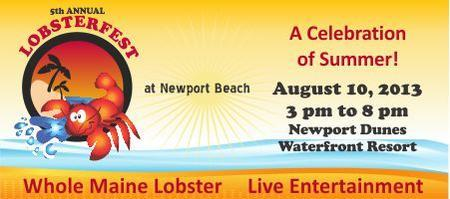 5th Annual Lobsterfest  at Newport Beach