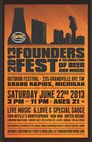 2013 Founders Fest - A Celebration of Beer & Music