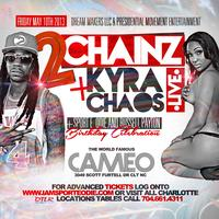 2 Chainz and Kyra Chaos at Cameo