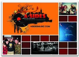 A-Sides Live! Signature Series #2 at Corx