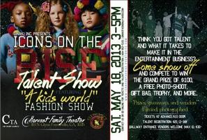 """2013 """"Icons on the Rise"""" Talent show featuring """"A Kids..."""