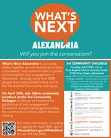 What's Next Alexandria? - 3rd Community Dialogue
