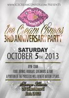 Ice Cream Convos 3rd Anniversary Party