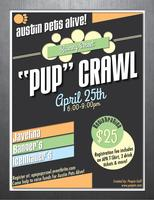 """Pup"" Crawl on Rainey St."