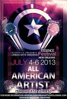 ALL AMERICAN ARTIST SHOWCASE SERIES