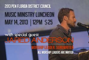 Pen Florida Music Pastor's Luncheon with Jared Anderson