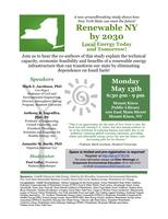 Renewable New York: Local Energy Today and Tomorrow!