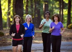 COME JOIN THE WALK TO FITNESS GROUP FOR WOMEN!