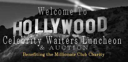 Celebrity Waiter Auction Fri. May 10 Table Seat