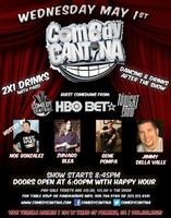 Comedy Cantina Night  Show starts 8:30-10:30pm