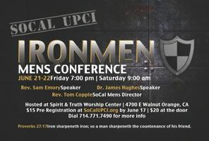 SoCal UPCI Ironmen Men's Conference 2013