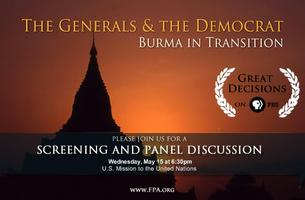 The Generals and the Democrat: Burma in Transition -...