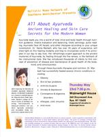 Holistic Moms Presents All About Ayurveda Ancient...