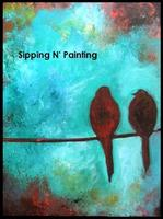 Sip N' Paint You Go First: Tuesday July 2nd, 6pm