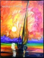 Sip N' Paint Come About: Tuesday July 9th, 6pm