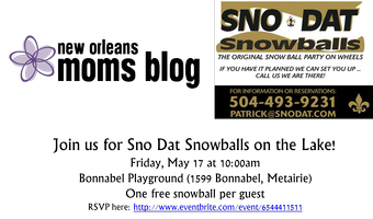 SnoDat SnowBalls on the Lake Playdate