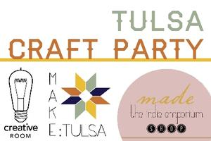 Etsy Craft Party: Tulsa, Oklahoma