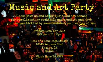 Music and Art Party