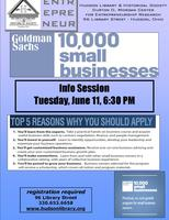 Goldman-Sachs 10,000 Small Businesses Info Session