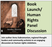 """Another Heaven"" Book Launch/ Human Rights Panel..."