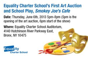 Equality Art Auction and School Play