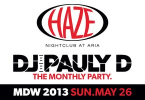 DJ Pauly D Guest DJ Set Memorial Day Weekend @ HAZE...