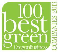100 Best Green Companies to Work For in Oregon 2013
