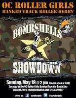 OC Roller Girls Banked Track Bombshells Showcase!