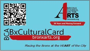 Free BxCulturalCard 2013 Launch Event-North Bronx