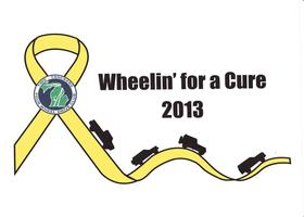 Two Trackers Wheelin' for a Cure
