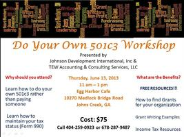 Do Your Own 501c3 Workshop