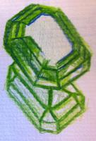 Emerald Sketch Art for 7th-12th graders - Mondays...