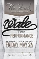 Wale Performs Live!