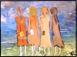 Sip N' Paint Sisters Sun May 13th 5:00pm