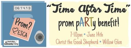 """Time After Time"" prom pARTy"